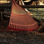 Swing set safety tips rake