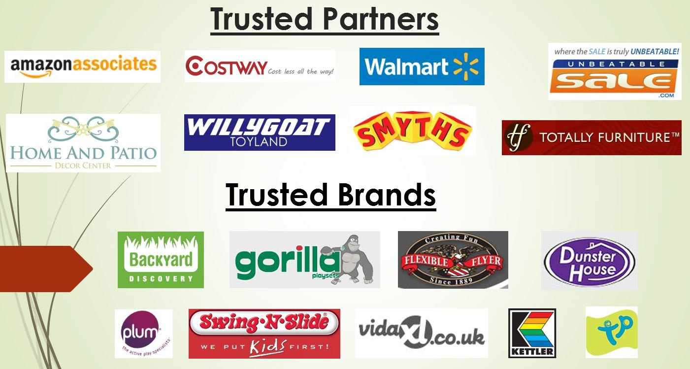 Trusted Partners and Brands