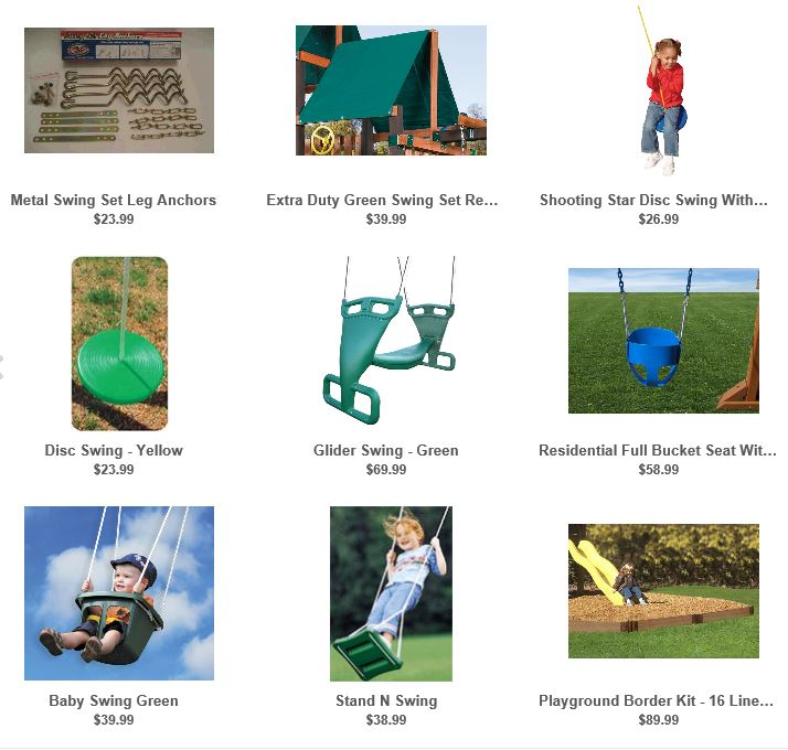 Willygoat Swing set accessories 2