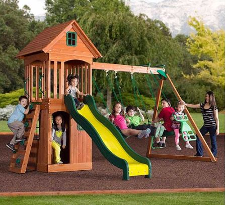 Backyard Discovery Springwood Wooden Swing Set