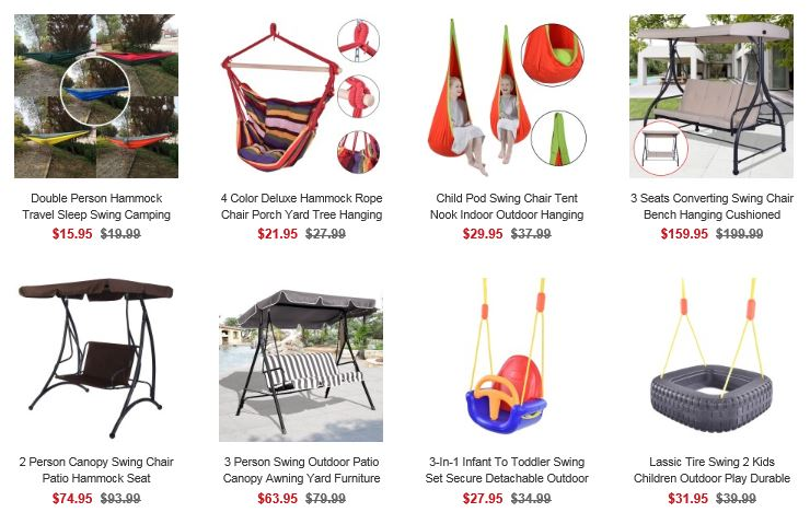Costway Garden Swings 2