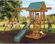 Meadowvale II Wooden Swing Set