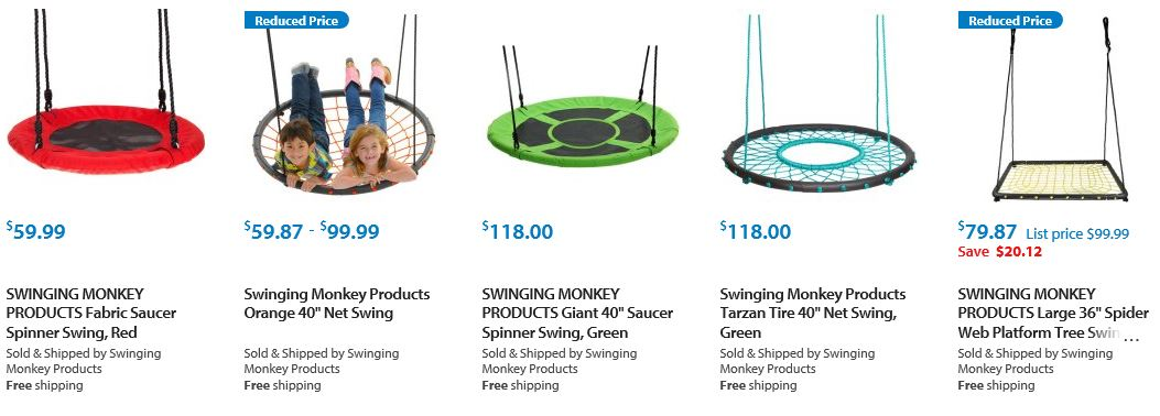 Swinging Monkey Products Walmart