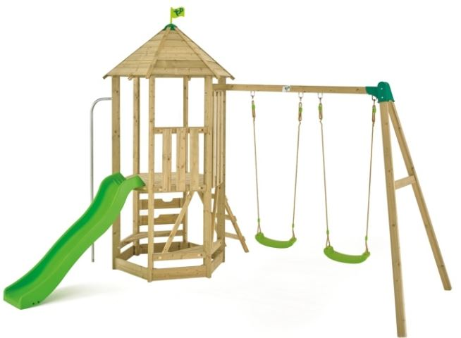 TP Castlewood Tower with Swing arm, Slide and seats £556.96.