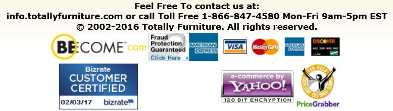 Totally Furniture contact details and payment options