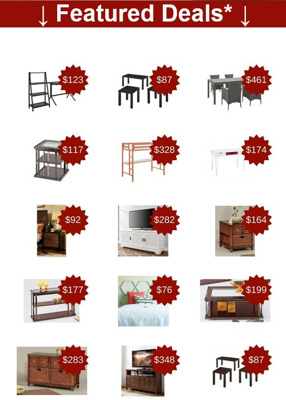 Totally Furniture featured deals