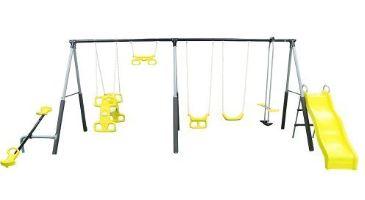 Castleton Swing Set with Slide