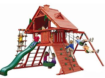 Gorilla Playsets Sun Palace Playground System