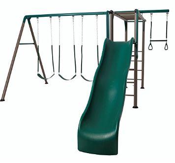Lifetime 90143 Monkey Bar Adventure Swing Set