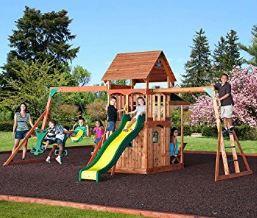Saratoga Cedar Swing Play Set