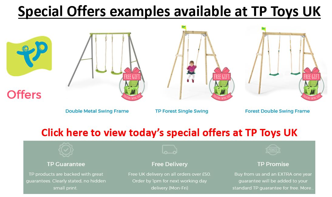 TP Toys UK promotions
