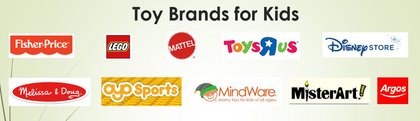 Toy Brands for Kids new