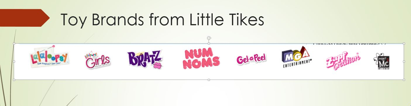 Toy Brands from Little Tikes