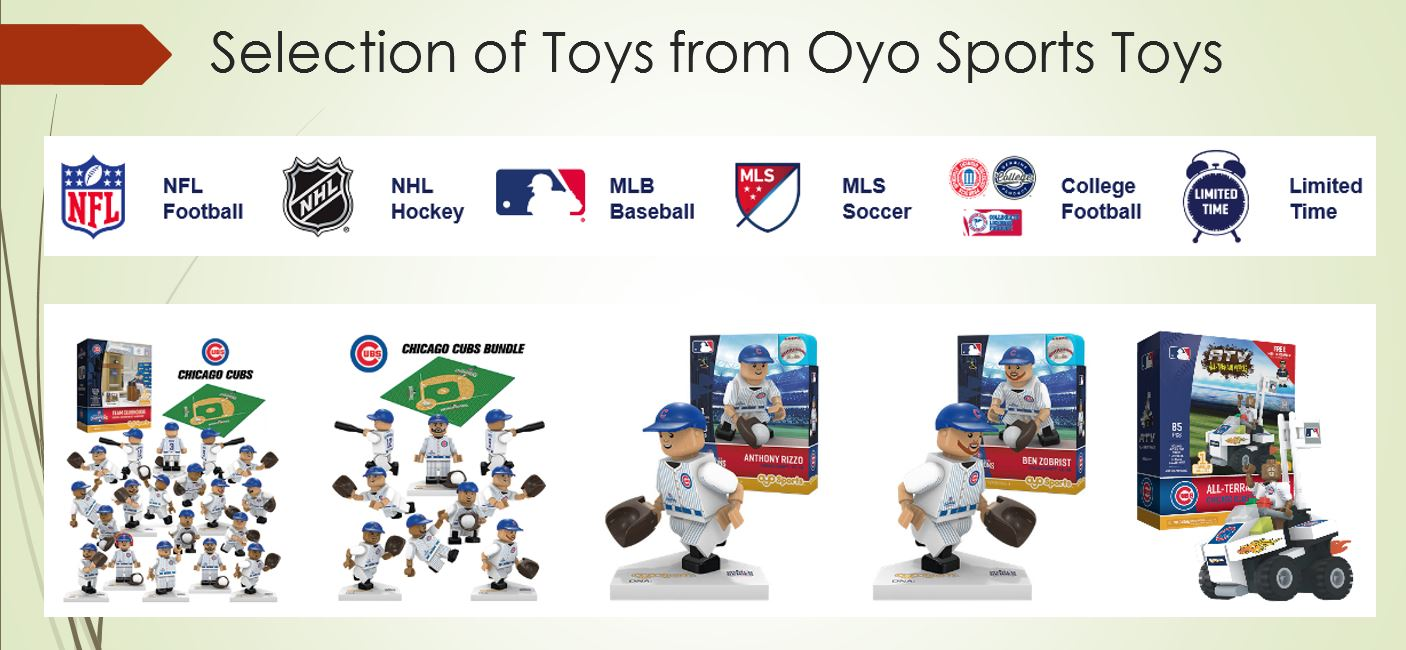 Toy Selection from OYO Sports toys