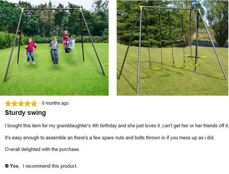 Apatou Swing Set featured image