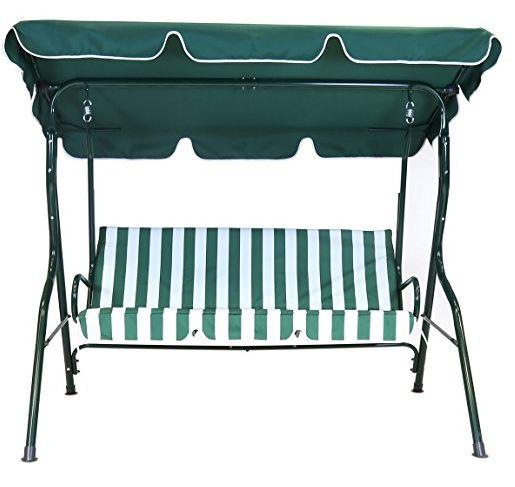 Charles Bentley Garden 2 Seater Garden Patio Swing Seat Amazon UK