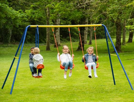 Delta Double Swing and See Saw
