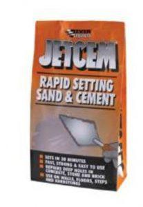 Everbuild JETX6 Jetcem Premix Sand Cement 6Kg