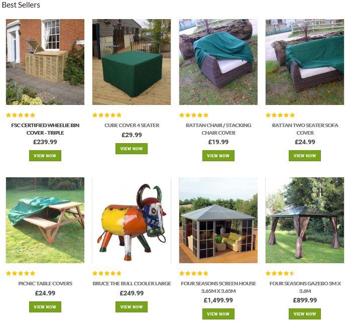 Garden Furniture Centre UK best sellers