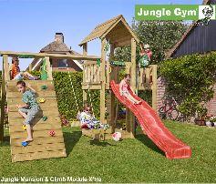 Jungle Gym Jungle Mansion with Climber