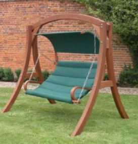 Wooden Garden Swings UK featured image