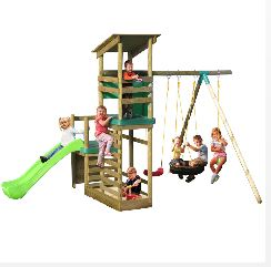 Little Tikes Buckingham Climb n Slide Swing Set