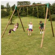 Little Tikes Oslo Wooden Swing Set
