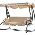 Outsunny Swinging 3 Seater Garden Hammock