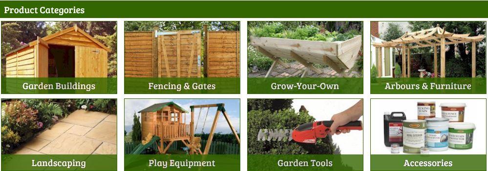 One Garden product categories