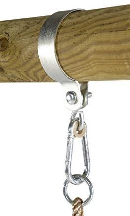 Circular metal strap