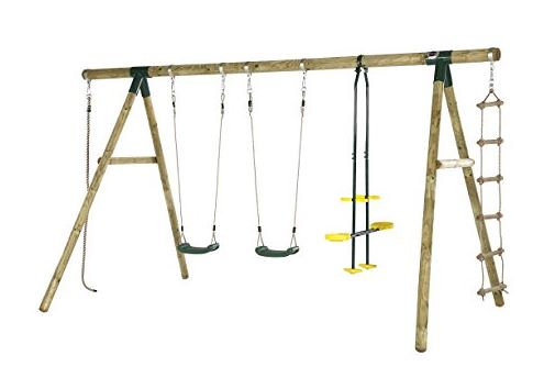 Plum Orangutan Swing Set