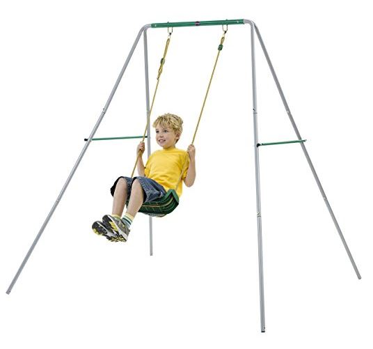 Plum 2 in 1 Baby Swing extended