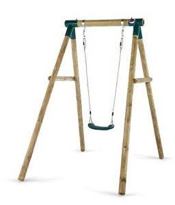Plum Products Bush Baby Wooden Single Swing Set