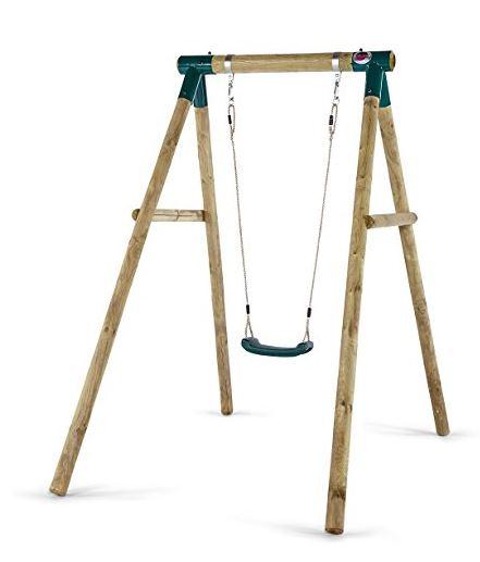 Plum Products Bush Baby Wooden Single Swing Set