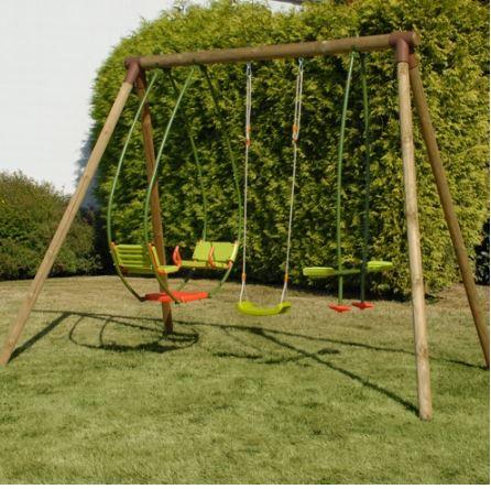 Soulet Garrigue Wooden Gym Set