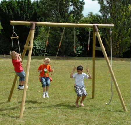 Soulet Piment Wooden Gym Set from Toys R Us UK