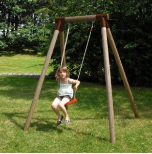 Soulet Wooden Single Swing