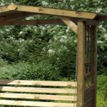 Store More Poseidon Swingseat Arbour 3 One Garden