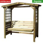 Store More Poseidon Swingseat Arbour 5 One Garden