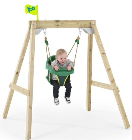 TP New Forest 'Growable' Acorn Swing Frame and Junior Seat