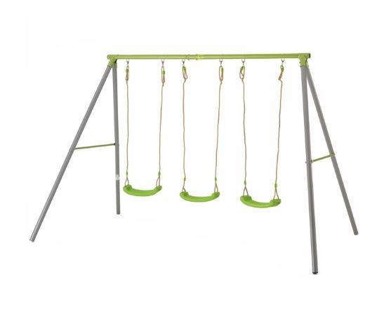 TP Triple Metal Swing with Seats