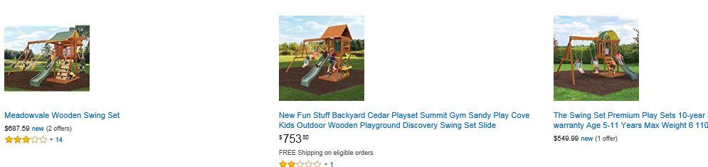 Big backyard swing sets Amazon Illinois