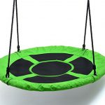 Childrens Web Swing Playground Platform net Swing Nylon Rope 40 inch upgrade