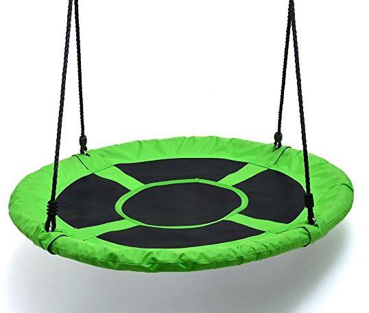 Childrens Web Swing Playground Platform net Swing Nylon Rope 40 inch upgrade