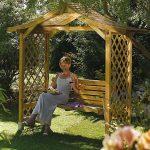 Dartmouth Swinging Seat Garden Arbour 1