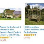 Dartmouth Swinging Seat Garden Arbour 2