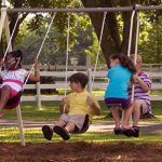 Flexible Flyer Play park Swing Set 4