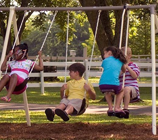 Flexible Flyer Play park Swing Set 4