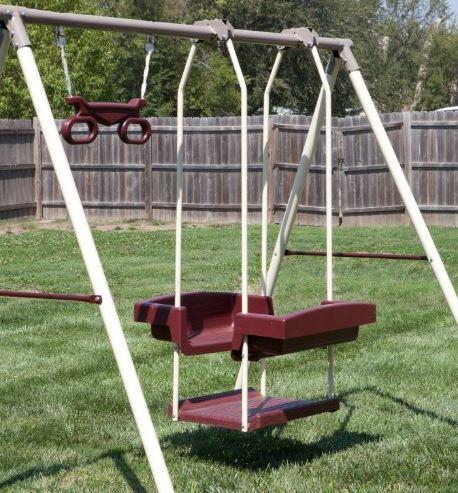 Flexible Flyer Play park Swing Set 5