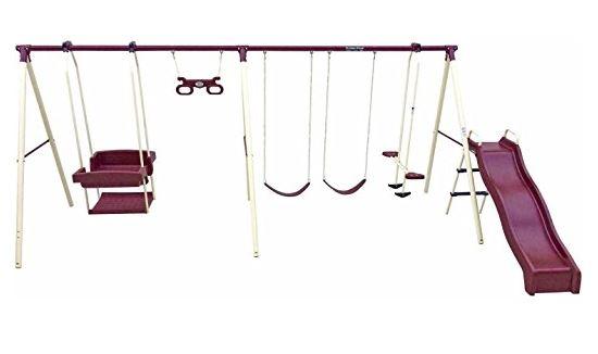 Flexible Flyer Play park Swing Set 6